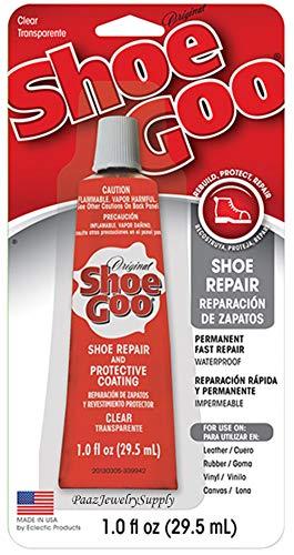Shoe GOO 110232 12 Pack 1-Ounce Shoe Goo Repair & Coating, Clear