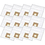 Sacchetto Aspirapolvere Compatibile Per Adatto A Per Clatronic BS 1264, BS 1272, BS 1275 Eco - 12 Staubsaugerbeutel