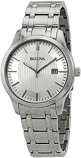 Bulova Men's 96B245 Silver Stainless-Steel Japanese Quartz Fashion Watch