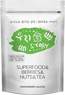 Wooriga Story Moringa Tea Bag | 60 EA | 1 Pack, Easy to Take, Compact Nourishments, Finest Quality, Low Temperature Drying Method, 모링가