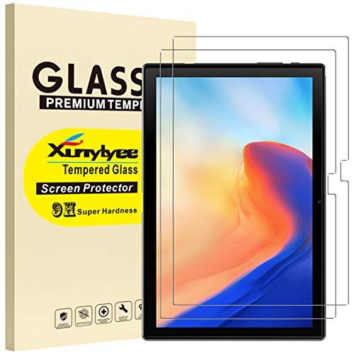 XunyLyee [2 pezzi] Pellicola Protettiva Compatibile Con Blackview Tab 8  Tab 8E, Vetro Temperato Pellicola per Blackview Tab 8  Tab 8E (10.1 pollici)