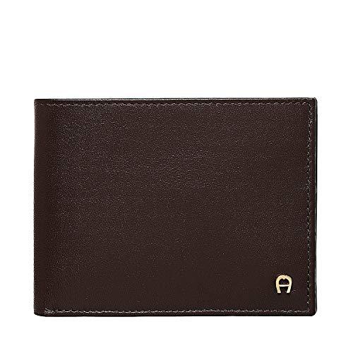 Aigner Wallet horizontal, 6 cc, Daily Basis Cuero Medium 9 x 11 x 2 cm (H/B/T) Unisex Carteras (152673)