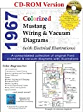 1967 Colorized Mustang Wiring and Vacuum Diagrams by David E. LeBlanc (2008-02-08)