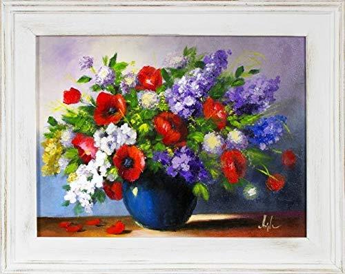 JVmoebel Ölgemälde Barock Bild Bilder Gemälde Ölbilder Ölbild Bilderrahmen Rahmen G16314