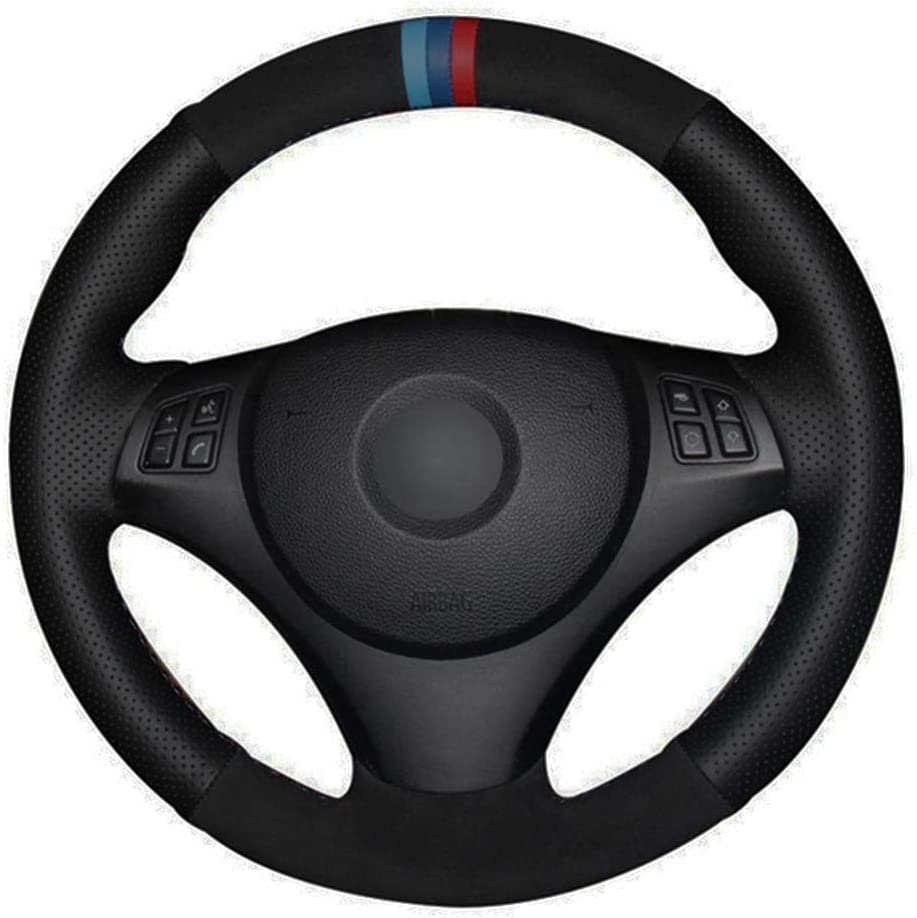 MDHANBK Ranking TOP13 DIY Hand-Stitched Car Steering Regular discount Wheel Cover Accessories B