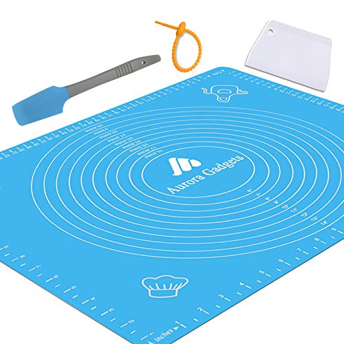 Silicone Baking Mat with Measurements – Heat Resistant,...