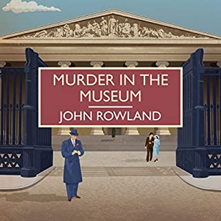 Murder in the Museum audiobook cover art