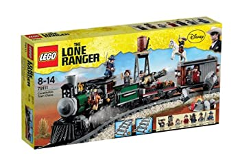 LEGO Disney The Lone Ranger Constitution Train Chase w/ Minifigures | 79111