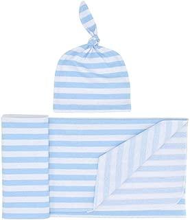SuperiMan Baby Swaddle Blanket Hat Set,Receiving Blanket 31