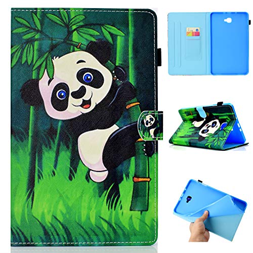 YidaSN Funda para Apple iPad Mini 1/2/3/4/5, Smart Cover Case, Estilo Libro Leather Folio Shell ,Función Soporte Auto-Sueño/Estela- Abrazo Panda