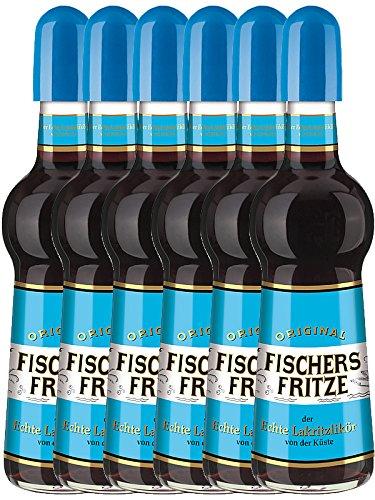 Fischers Fritze Lakritzlikör aus Deutschland 6 x 0,5 Liter