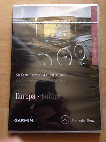 GARMIN MAP PILOT 2015 SD KARTE EUROPA AUDIO 20CD TOUCHPAD A2059065502