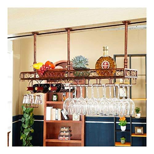 Wijnglas wijnglas hanger omgekeerde stang wijnglas decoratie huis wijnrood groot voor montage in ijzeren frame wandrek wijnrek L19.12.25