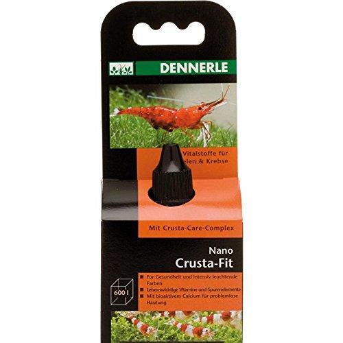 Dennerle Nano Crusta-Fit 15 ml | Vitalstoffe, Vitamine und Spurenelemente für Mini-Aquarien mit Garnelen und Krebsen