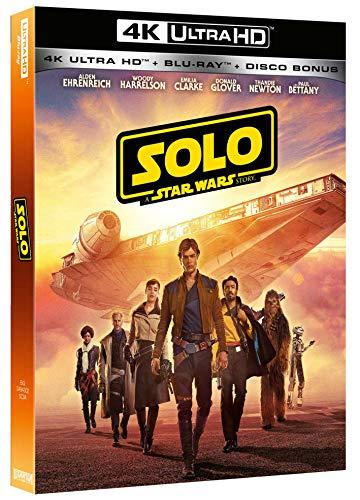 Star Wars - Solo: A Star Wars Story (Blu-Ray 4K Ultra Hd+2 Blu-Ray) [Italia] [Blu-ray]