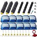 Amyehouse Replacement Parts Kit Bristle Brush & Flexible Beater Brush & Aero Vac Filter & Armed-3 Side Brush for iRobot Roomba 600 Series 595 610 614 620 630 645 650 655 660 680 690 Vacuum Cleaner