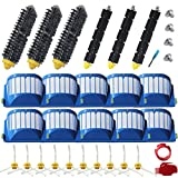 Amyehouse Replacement Parts Bristle & Flexible Brushes & Filters & Side Brush & Cleaning Tools for iRobot...