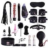 SEX-GHD D Surprise - Party Pack - Gifts - Fiesta de cumpleaños de 19 Piezas para pequeños Juguetes, premios y Juegos de Carnaval (Negro)