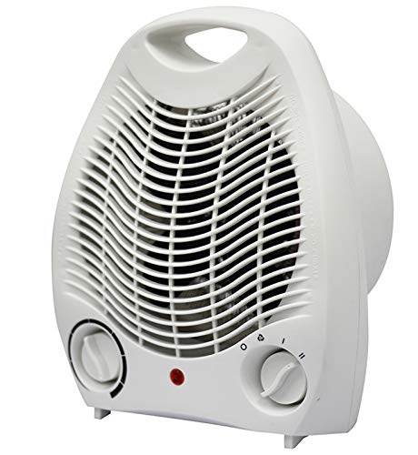 XXY Heizventilator Warm Lüfter Warm Lüfter Elektror Lüfter Home Vertikal Heizung Heißlüfter Hemera Für Tragbare Heizung Home Office (Color : White)