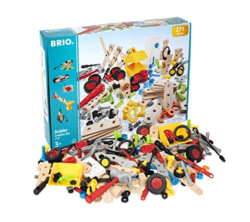 BRIO 34589 - Builder Kindergartenset 271tlg.