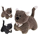 Large Heavy Fabric Animal Kitten Door Stop Home Office Cuddly Toy Doorstop