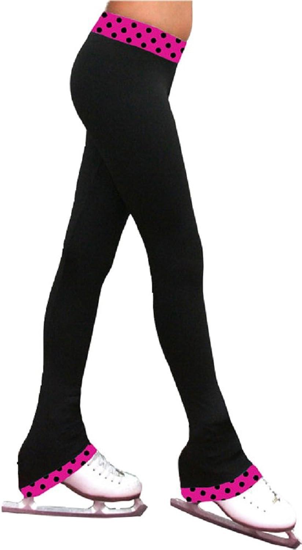 ChloeNoel Figure Skating 2  Contrast Waist Pants P04