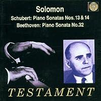 Schubert: Piano Sonatas Nos. 13 & 14; Beethoven: Piano Sonata No. 32
