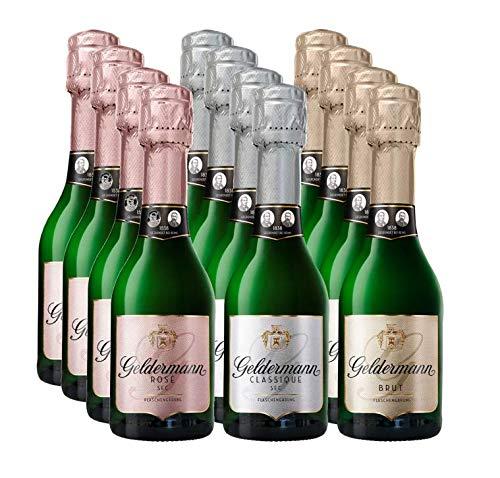 Geldermann Flaschengärung Set – Rosé, Brut, Classique (12 x 0,2l) (12 * 0,2l)