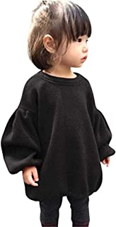 Newborn Infant Baby Girl Sweater Kid Long Sleeve Ruffle Warm Spring Fall Winter Pullover Tops Outfits
