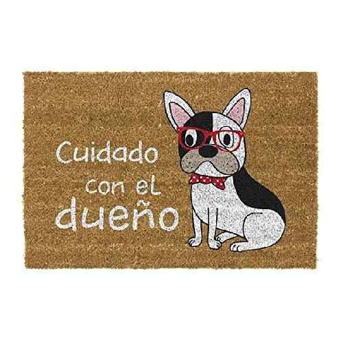 DCASA DCASA Antideslizante Dueño Referencia DC Felpudos Textiles del hogar Unisex Adulto, Color, 40x70x1,5 cm