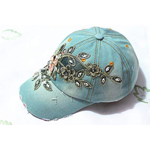 Gorra de Beisbol Sombrero Cap Venta Al por MayorModa DenimGorra DeBéisbolGorraDeportiva Gorra De Lona Snapback Gorras Sombrero para Mujer