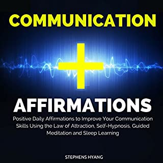 Communication Affirmations audiobook cover art