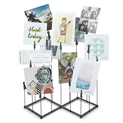 Mejor TR-LIFE Plate Stands for Display - 3 Inch Plate Holder Display Stand + Metal Frame Holder Stand for Picture, Decorative Plate, Book, Photo Easel (2 Pack) crítica 2020