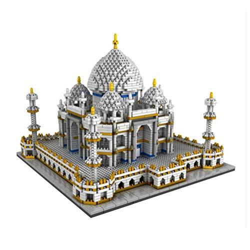 QXF-D Taj Mahal Gebäude Model Set, Mini Bricks 3D-Puzzle-DIY Pädagogische Spielwaren-Geschenk for Erwachsene Und Kinder - 3950pcs + für Erwachsene Jugendliche und Kinder