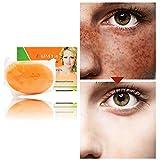 BOBORA Natürliche Papaya-Hautaufhellungsseife Anti-Sommersprossen-Seife Gesichtspflege Waschseife...
