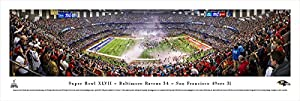 Super Bowl 2013 - Baltimore Ravens Champions - Blakeway Panoramas Unframed NFL Posters
