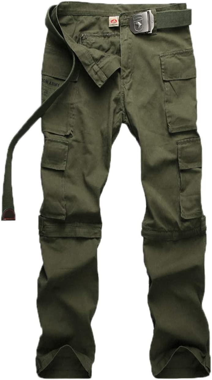 YINSY Men's Save money Casual Outdoor Tactical Multi-Pockets Work Pants Car San Antonio Mall