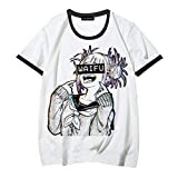 Ailin Online My Hero Academia: Himiko Toga T-Shirt, Rundhals Kurzärmlig Anime T-Shirt für...