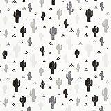 Fabulous Fabrics Cretonne Kakteen Mini Tipi – Weiss —