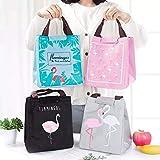Epyz Flamingo Tote Thermal Bag Waterproof Oxford Lunch Bag Food Picnic Women Kid