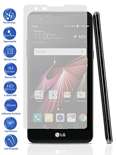 Todotumovil Protector de Pantalla LG X Power de Cristal Templado Vidrio 9H para movil