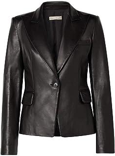 Trailblazerzz Womens Leather Jackets Motorcycle Bomber Biker Real Lambskin Leather Jacket for Women Black