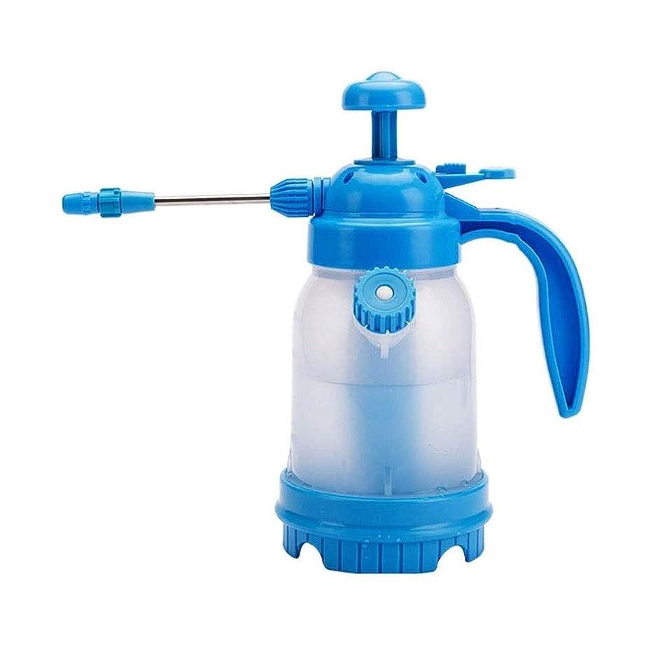 どきどき気怠いバルセロナLKNJLL ガーデンポンプスプレー、調節可能なノズルを有するプラスチック製の水缶、芝生、庭園1.2L手の圧力水噴霧器