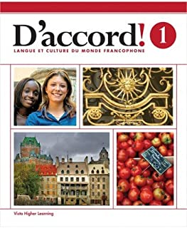 D'accord! ©2015 Level 1 Student Edition with Supersite and vText Access