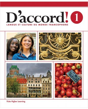 Price comparison product image D'accord! ©2015 Level 1 Student Edition with Supersite and vText Access