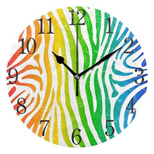 orologio da parete zebrato ISAOA