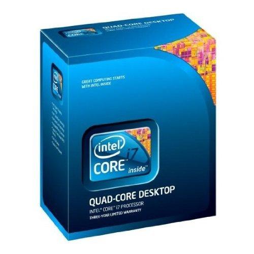 Intel Procesador de cuatro núcleos i7-870 - 2,93 GHz, caché de 8 MB, 2,5 GT/seg, Socket 1156, 45 nm, garantía de 3 años, caja al por menor (renovado)