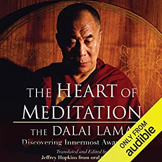 The Heart of Meditation audiobook cover art
