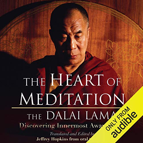 The Heart of Meditation Audiobook By His Holiness the Dalai Lama, Jeffrey Hopkins (Editor and Translator) cover art