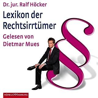 Lexikon der Rechtsirrtümer Titelbild